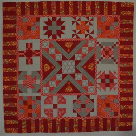 Free Mystery Quilt Patterns by Globetrotting Mystery Quilt Setting Pattern
