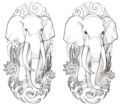 elephant head tattoo designs tattoos on 119 pins