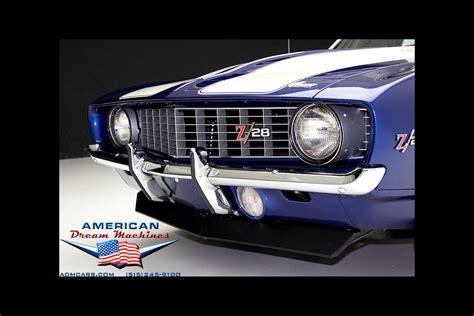 1969 camaro z28 blue 1969 chevrolet camaro z28 blue x 77 dz 302 z28 american