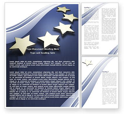 union template of european union word template 05523
