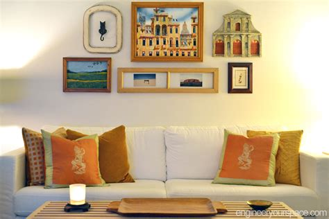 Decorating Ideas Blank Wall Decorating Idea For A Big Blank Wall Gallery Walls