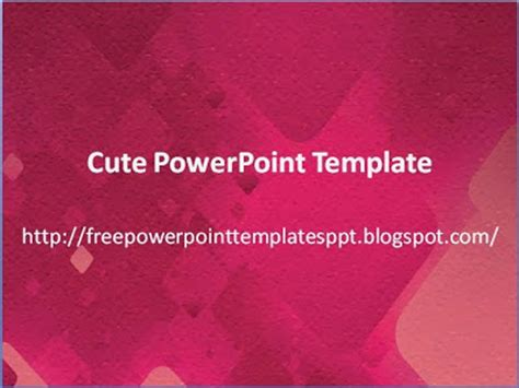 5 Free Cute Powerpoint Templates Download Charming Background For Presentation Powerpoint Uw Powerpoint Template