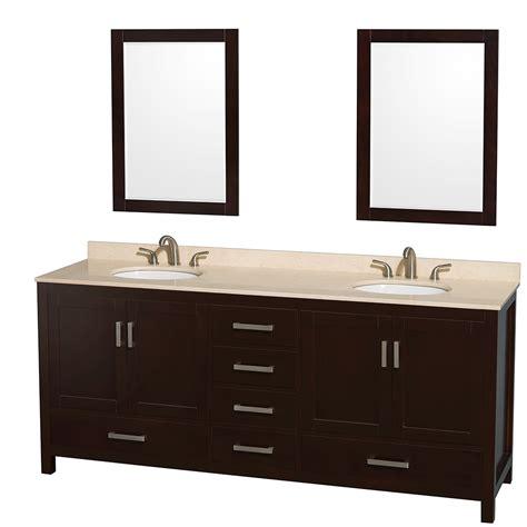 Marble Vanity Countertop by Wyndham Collection Wcs141480desivunom24 Sheffield 80 Inch
