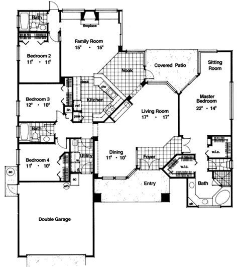 stonewood homes floor plans stonewood 4394 4 bedrooms and 3 5 baths the house