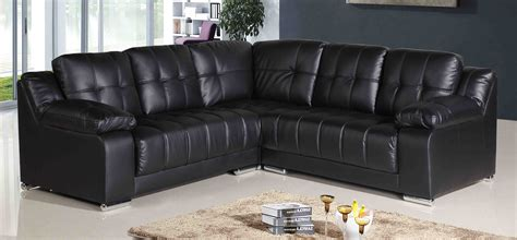 corner leather recliner sofa new style black leather