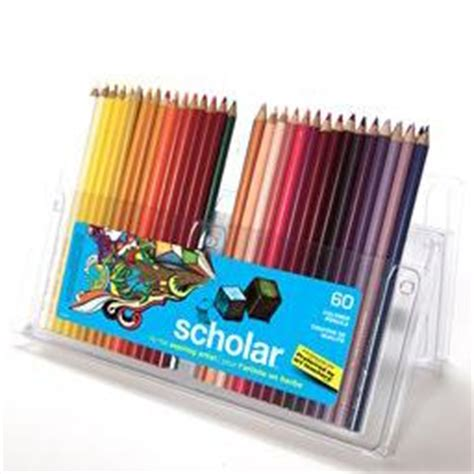 prismacolor scholar colored pencils 60 prismacolor scholar pencil pencils box of 60