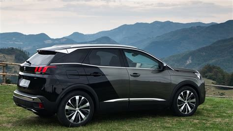 peugeot 3008 2017 black 2017 peugeot 3008 suv youtube