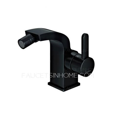 Black Bidet High End Black Copper Bidet Faucet With Cold And Water
