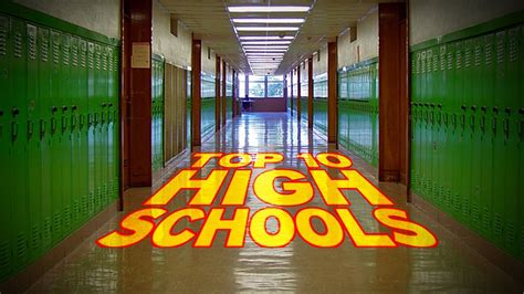 best schools in the world top 10 high schools