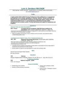 Sample Resume For Registered Nurse With Experience doc 540700 resume samples for nurses with experience