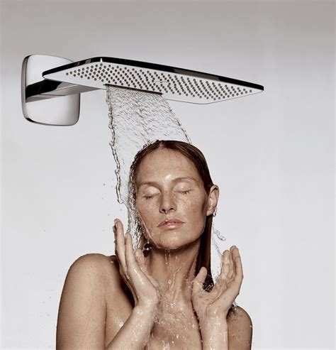 Finished Bathroom Designs by Hansgrohe Raindance E 420 Showerhead With 2 Air Jets