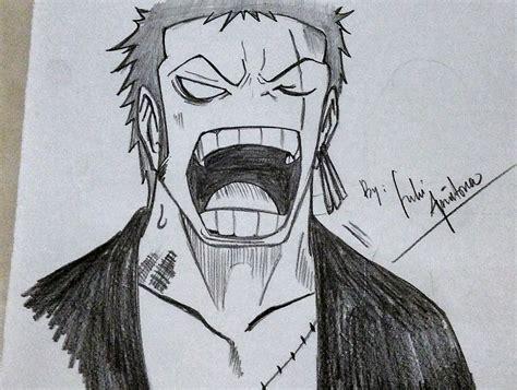 Drawing Zoro by Drawing Roronoa Zoro New World One