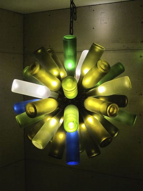 recycled wine bottle chandelier i made this recycled wine bottle chandelier bored panda
