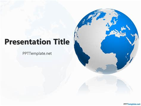 Geography Powerpoint Templates Free Geography Ppt Template