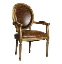 Dining Arm Chairs Country Louis Xvi Oval Back Leather Dining Arm Chair Kathy Kuo Home