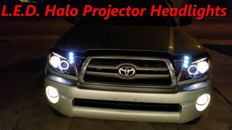 2010 tacoma lights diy tacoma 2010 05 l e d halo projector headlights