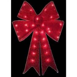 find your joy 24 lighted holiday bow home accents 24 in pre lit tinsel bow ty419 914 the home depot