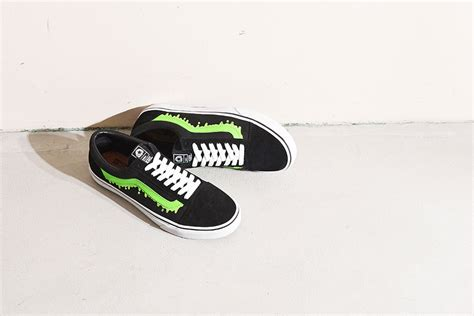 Vans Sk8 Hi X Magical Mosh Misfits Green magical mosh misfits 215 vans vans japan