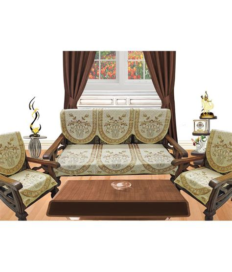 bizarre home decor decor bazaar multicolor leaf pattern sofa cover set buy
