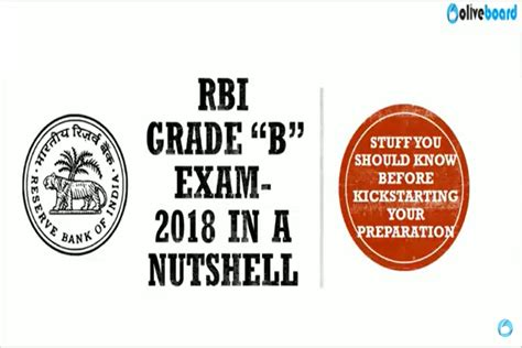 Rbi Careers For Mba by Rbi Grade B 2018 Explained In A Nutshell Rbi