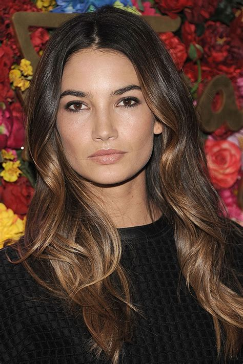 ribbon highlights for brunettes the hottest hair color trends for fall thin ribbon