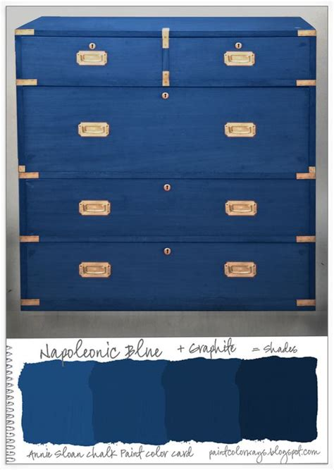 shades of blue ombre chest of drawers dresser changing style the caign and paint on pinterest