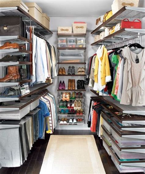 Elfa Wardrobe System by 5 Ideas For Creating A More Organized Closet Space