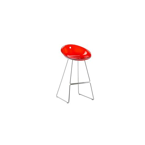 Tabouret Pedrali by Tabouret De Bar Gliss 902 Assise Pieds Chrom 233 S Pedrali