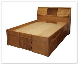 King Size Platform Bed With Storage Building Platform Bed With Storage Drawers New Generation Woodworking