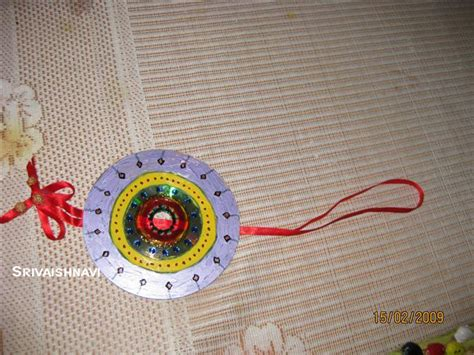 cd painting how to make cd painting craft webindia123