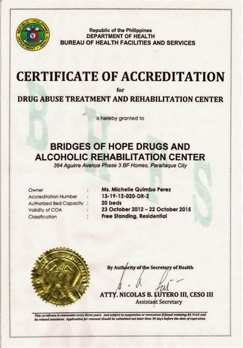 Detox Program In The Philippines by And Rehab Centers In The Philippines Bridges