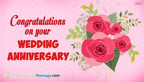 Wedding Anniversary Quotes General by Congratulations On Your Wedding Anniversary