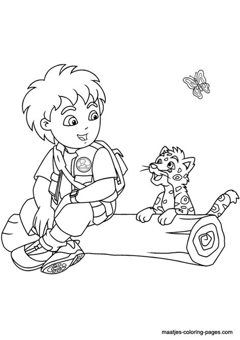 diego coloring pages to print go diego coloring pages printable az coloring pages