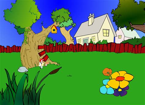 garden by animationantics on deviantart