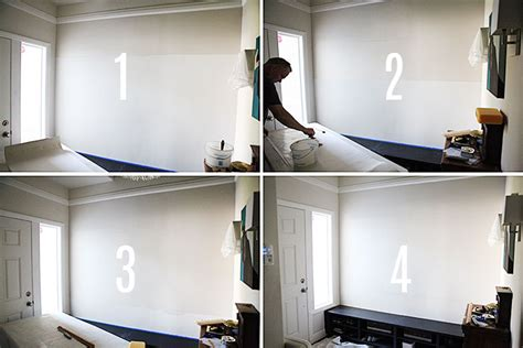 apply wallpaper lining  wall size adhesive