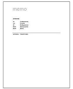 Vorlage Word Notizen office vorlage quot memo quot zum gratis