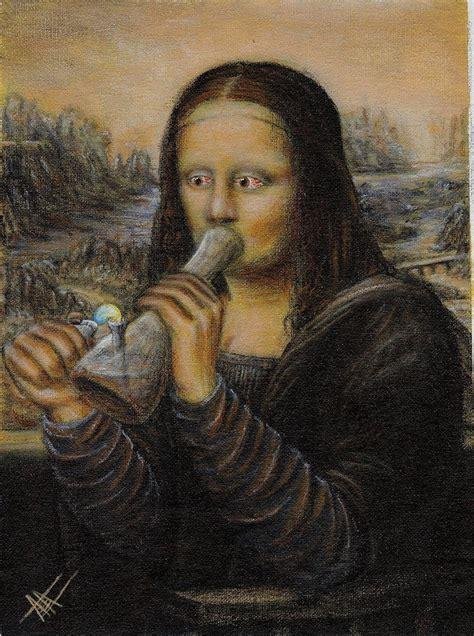 Monalisa Top best mona parodies la gioconda painting no panic at the disco