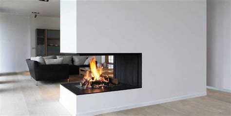 three sided fireplace search for the home