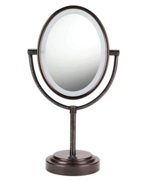Conair Lighted Makeup Mirror by Conair 7x Magnified Lighted Makeup Mirror Bronze