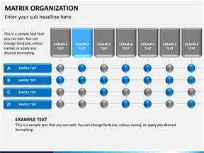 powerpoint matrix template matrix organization powerpoint sketchbubble