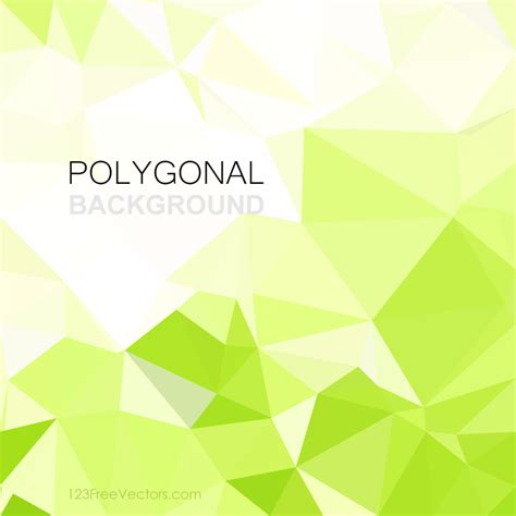 yellow geometric background design vector from free vector yellow green geometric polygon background design