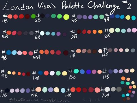 color challenge palette challenge 2 by ultimatekawaiichibi on deviantart