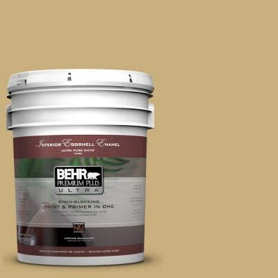 behr premium plus ultra 5 gal ppu6 16 cup of tea eggshell enamel interior paint 275405 the