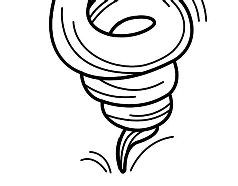 Tornado Coloring Cut Coloring Pages Tornado Coloring Pages