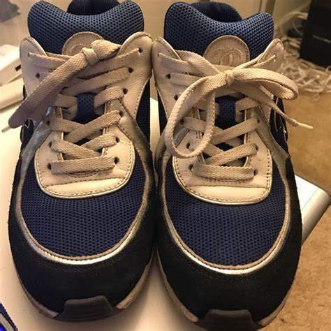 chanel sneakers blue 44 chanel shoes chanel cruise sneakers black blue