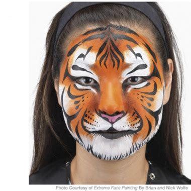 CARNEVALE costumi fai-da-te | La Maglia di Marica Realistic Tiger Makeup