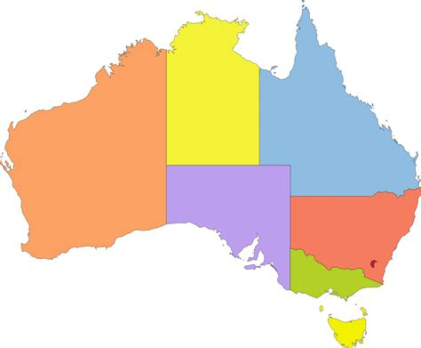 australia colors archivo australia color map svg la