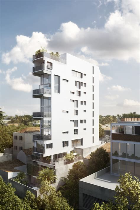 residential towers getting the backyard in the city part gallery of tranquility in the heart of s 227 o paulo meet the