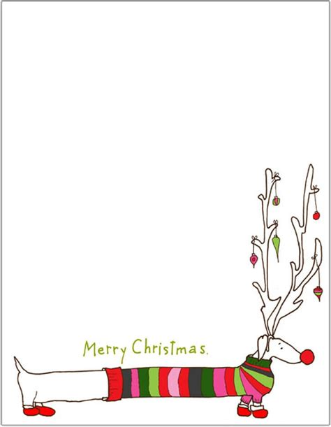 template for christmas letter invitation template