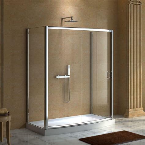 glass shower enclosure aluminum glass shower enclosure signature hardware